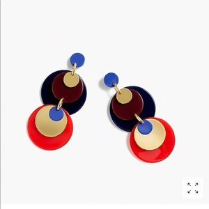 J.crew Mixed media statement earring